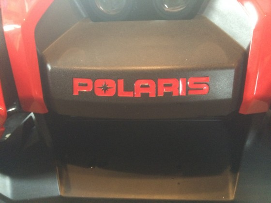 front bumper decal