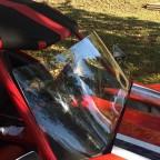 """F4 + 7"""" windshield installed"""