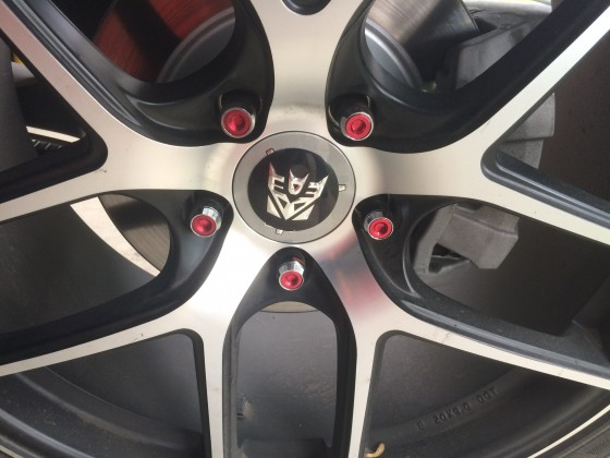 Deceptacon wheel decal