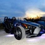 Slingshot and a Texas sunset