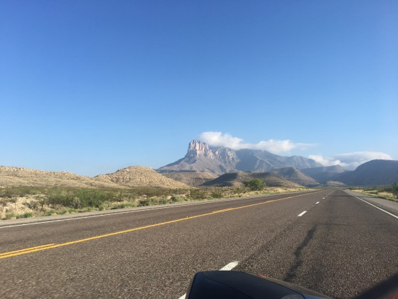 Guadalupe Peak on hwy 62/180