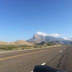 Guadalupe Peak on hwy 62/180