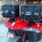 Handmade luggage racks