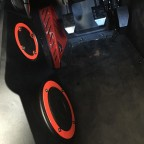 Speakers Rings Dead foot Pedal