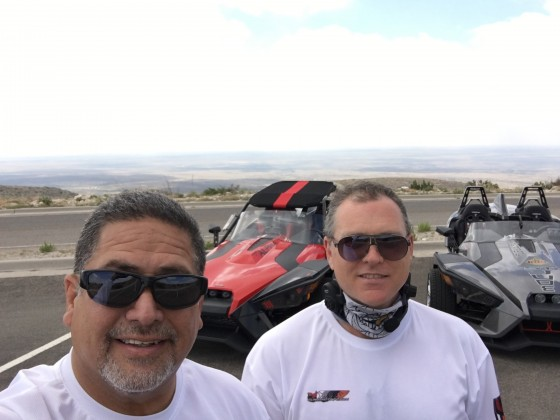 Required Selfie just before leaving Carlsbad Caverns
