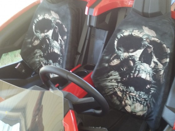 Cheep seat covers t-shirts