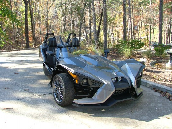 "2015  Polaris Slingshot  ""Batmobile"""