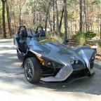 "2015  Polaris Slingshot  ""Batmobile"""