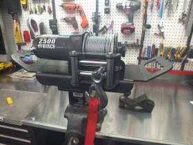 Removable Winch for Enclosed Slingshot Trailer - DIY or How